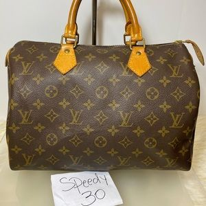 Speedy 30 Monogram Hand Bag SD 0943